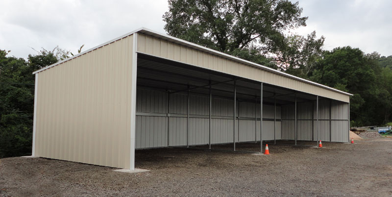 12 x 20 metal building define purlin durospan steel g for Carport with storage shed plans