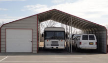 36' x 40' RV Cover with Storage