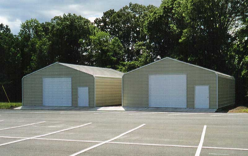 Two 30 x 30 Enclosed Buildings