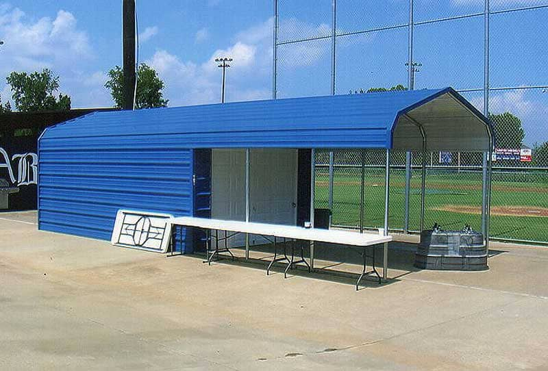 12 x 30 cover with 15' storage.