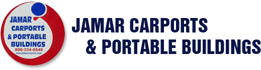 Jamar Carports & Portable Buildings Logo